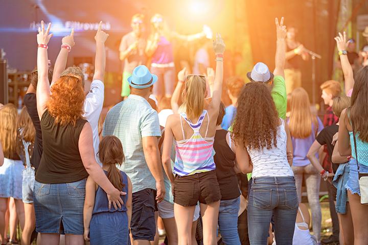 夏のミュージックフェスティバル