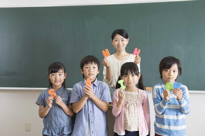 英語教師と生徒